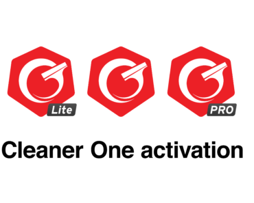 Cleaner One Activation