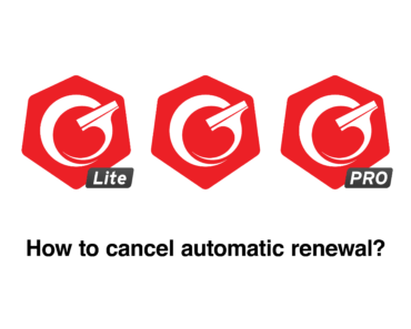 How to cancel automatic renewal?