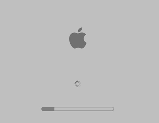Mac Loading Page