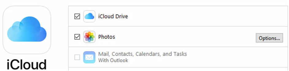 open iCloud for windows