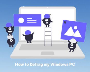 disk defragment windows 10