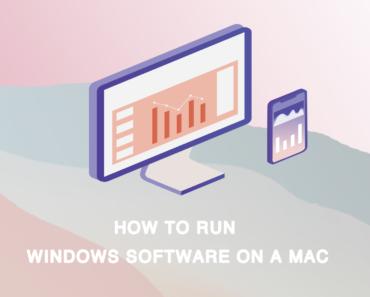 run windows software on a mac