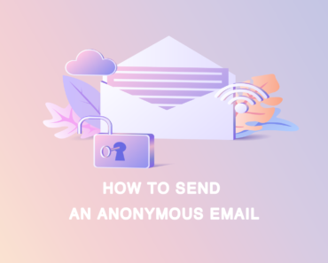 how to send an anonymous email