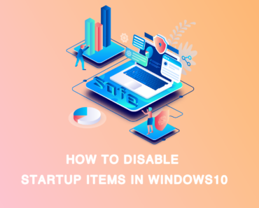 how to disable startup items in win10