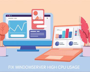 window server high cpu