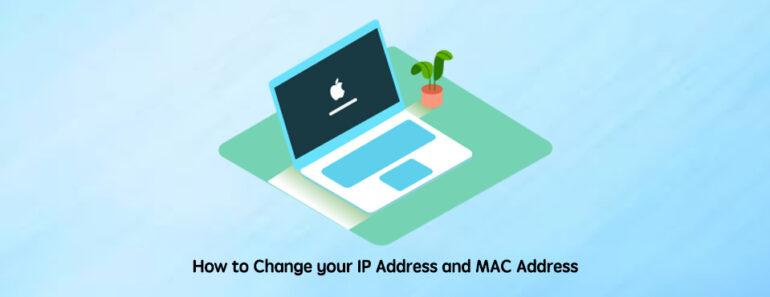 change ip address on mac