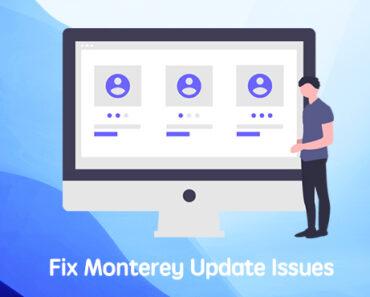 update to macos monterey