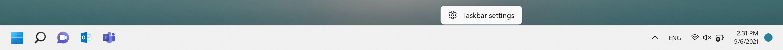 Click any empty space on taskbar.