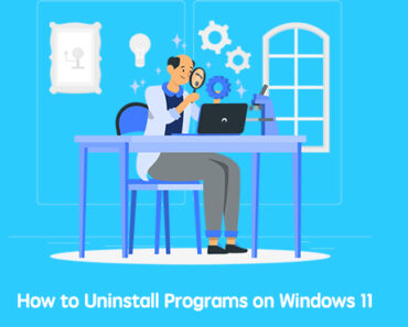 uninstall apps windows 11