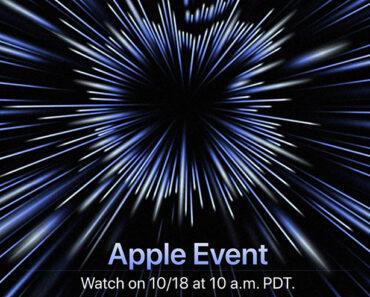 Apple Event October 18